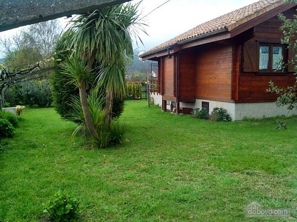 Charming family friendly log cabin near the beach, Deux chambres (50332), 002
