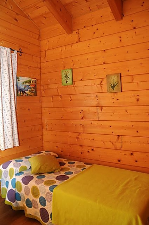 Charming family friendly log cabin near the beach, Deux chambres, 004