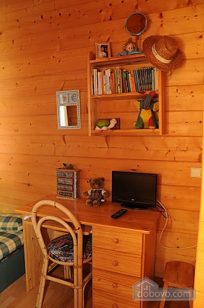 Charming family friendly log cabin near the beach, Deux chambres (50332), 009