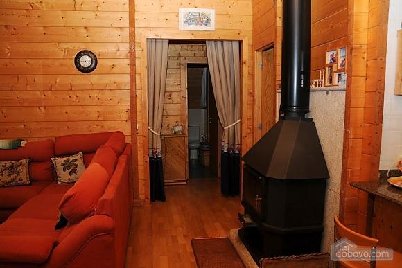 Charming family friendly log cabin near the beach, Deux chambres (50332), 014