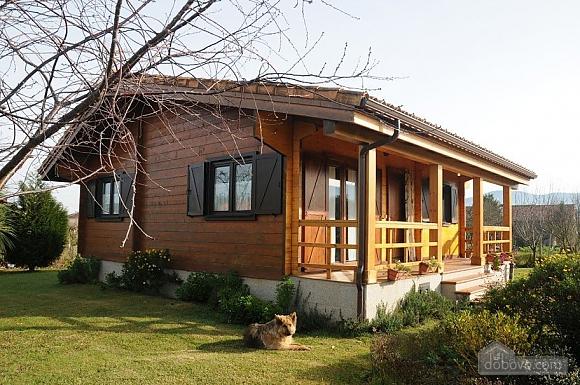 Charming family friendly log cabin near the beach, Deux chambres (50332), 018