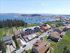 Luxurious brand new apartment with swimming pool on Isla de Arousa, Dreizimmerwohnung, 001