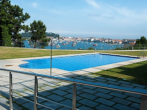 Luxurious brand new apartment with swimming pool on Isla de Arousa, Dreizimmerwohnung, 003
