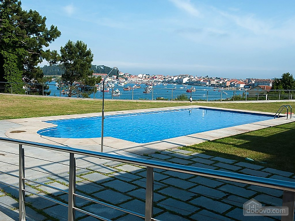 Luxurious brand new apartment with swimming pool on Isla de Arousa, Deux chambres (73584), 003