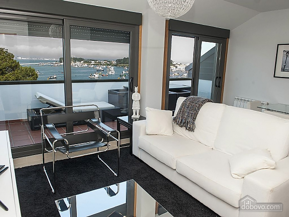 Luxurious brand new apartment with swimming pool on Isla de Arousa, Deux chambres (73584), 013