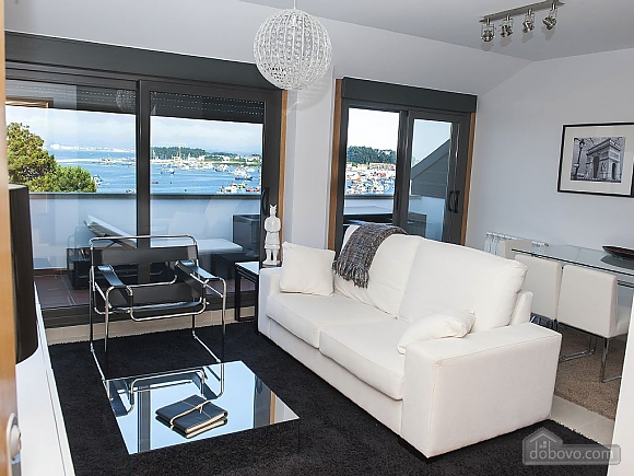 Luxurious brand new apartment with swimming pool on Isla de Arousa, Deux chambres (73584), 014