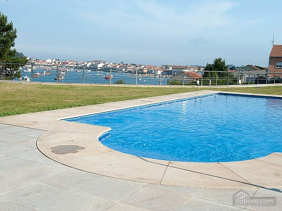 Luxurious brand new apartment with swimming pool on Isla de Arousa, Deux chambres (73584), 019