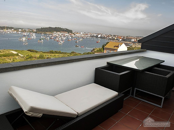 Luxurious brand new apartment with swimming pool on Isla de Arousa, Deux chambres (73584), 022