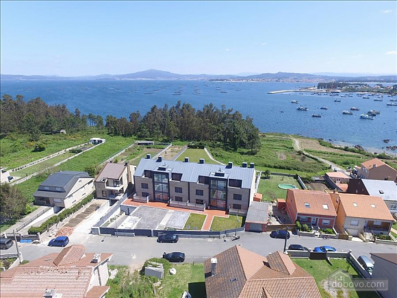Luxurious brand new apartment with swimming pool on Isla de Arousa, Deux chambres (73584), 026