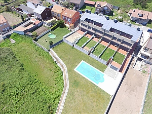 Luxurious brand new apartment with swimming pool on Isla de Arousa, Deux chambres, 027