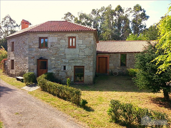 Luxury stone house in Fraguas do Eume Natural Park, Vierzimmerwohnung (26223), 008