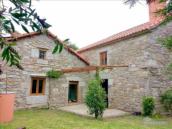 Luxury stone house in Fraguas do Eume Natural Park, Vierzimmerwohnung (26223), 016