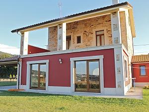 Beautiful stone cottage close to beach on Costa da Morte, Sechszimmerwohnung, 001