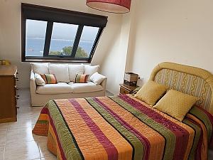 Lovely beachfront duplex on Isla de Arousa, Quattro Camere, 011