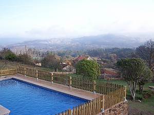 Lovely stone villa with swimming pool on Rias Baixas, Fünfzimmerwohnung, 002
