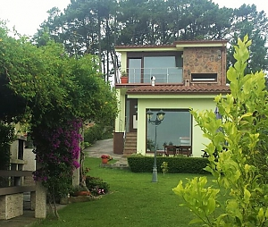 Lovely villa 200 m from the beach in Ameixida, Three Bedroom, 001