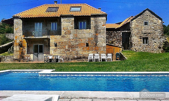 Peaceful stone house in the mountains, Quatre chambres (64582), 001
