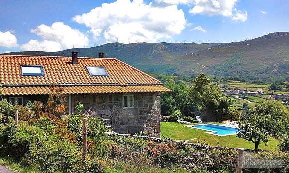 Peaceful stone house in the mountains, Quatre chambres (64582), 007