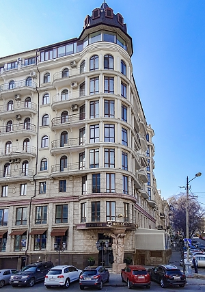 VIP apartment Bizon in Odessa, One Bedroom, 018