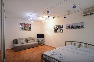 Spacious apartment in hi-tech style in the center of Kiev, Studio, 004