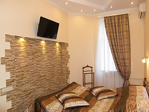 VIP apartment with jacuzzi and design at Maidan, Un chambre, 001