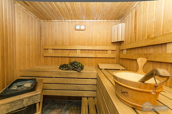 VIP Сауна джакузи метро Крещатик тихое место, 4х-комнатная (24540), 013