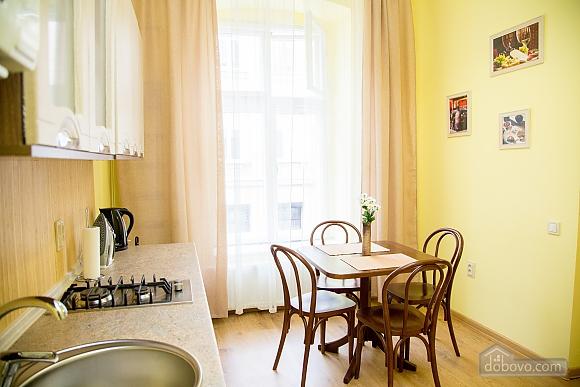 Затишні апартаменти біля площі Ринок, 1-кімнатна (52879), 005