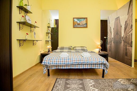 Затишні апартаменти біля площі Ринок, 1-кімнатна (52879), 015