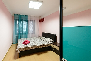 Apartment near metro Klovska, Un chambre, 001