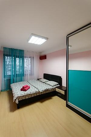 Apartment near metro Klovska, Un chambre, 003