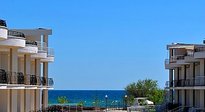 Duplex apartment on the sea coast, Two Bedroom, 003
