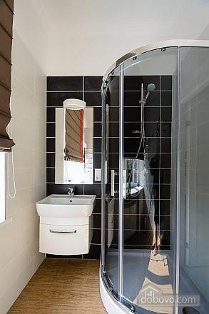 Designed street view studio apartment with shower, Studio (34939), 006