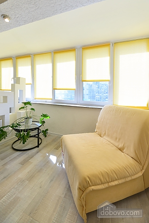 Light studio street view apartment with separate kitchen, Studio (20993), 005