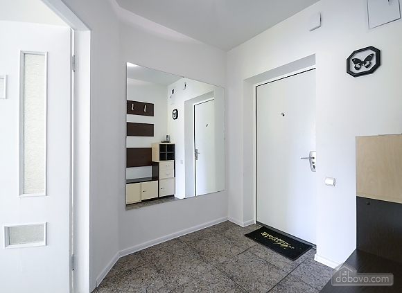 Light studio street view apartment with separate kitchen, Studio (20993), 012