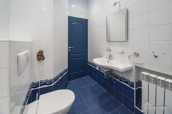 Quiet huge apartment with balcony and shower , Zweizimmerwohnung (89135), 005