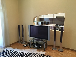 Duplex penthouse on Bessarabska square with Jacuzzi and gym, Un chambre, 004