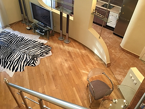 Duplex penthouse on Bessarabska square with Jacuzzi and gym, Un chambre, 001