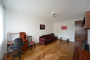 Pleasant quiet furnished apartment with unforgettable historic view in the center of Kiev, Zweizimmerwohnung, 003