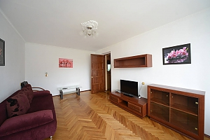 Pleasant quiet furnished apartment with unforgettable historic view in the center of Kiev, Zweizimmerwohnung, 004