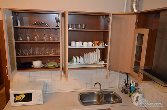 Cozy and comfortable apartment near Olimpiiska metro station, Two Bedroom (10338), 011