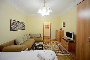 Amazing spacious equipped by last word of technics apartments in the center of Kiev, Studio, 001
