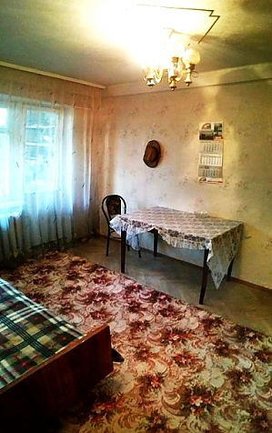 Apartment near KyivExpoPlaza, Un chambre, 004
