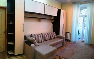 Apartment near Zoloti Vorota metro station, Un chambre, 003