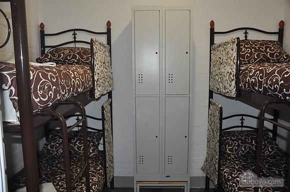 Ліжко в спільному чотиримісному номері, 1-кімнатна (52131), 001