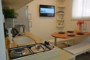 Apartment with private patio, Un chambre, 004