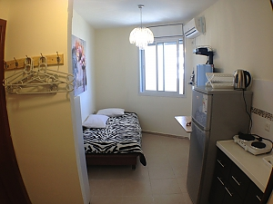 Compact apartment on the embankment of the Bat-Yam, Studio, 002
