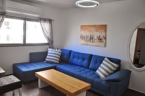 Cozy apartment on the embankment of the Bat Yam, Zweizimmerwohnung, 002