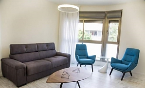 Elite apartment in Tel Aviv, Dreizimmerwohnung, 002