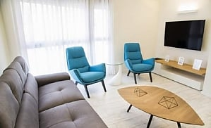 Elite apartment in Tel Aviv, Dreizimmerwohnung, 003