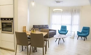 Elite apartment in Tel Aviv, Dreizimmerwohnung, 004